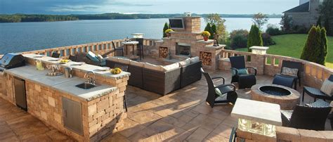 outdoor living outdoor living kits rochester concrete products