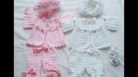 chambritas tejidas a dso agujas con canesu redondo paso a paso chambritas tejidas a crochet para bebe