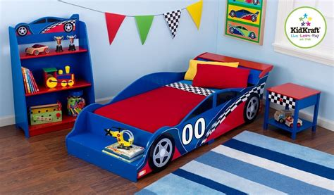 toddler race car bed race car toddler bed kidsdimension