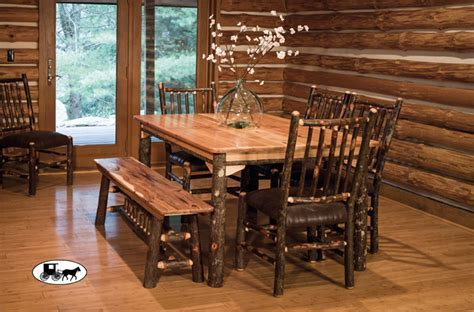 Amish and Adirondack Kitchen, Dining Room Furniture: NY