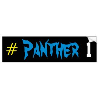 Stiker Black Panther Sticker Mobil black panthers bumper stickers car stickers zazzle co uk