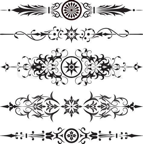 vintage design elements corners vector free element for design corner flower vector illustration