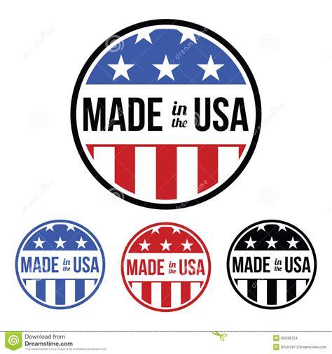 made in the usa symbol made in the usa symbol stock vector image 50536724
