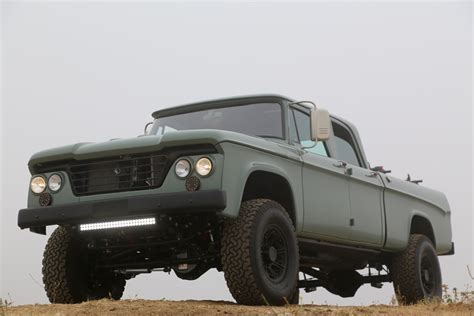 icon 4x4 d200 dodge power wagon hemi restomod by icon is a cool