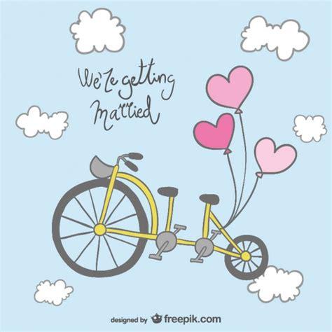 Hochzeitseinladung Fahrrad by Hochzeitseinladung Fahrrad Design Der