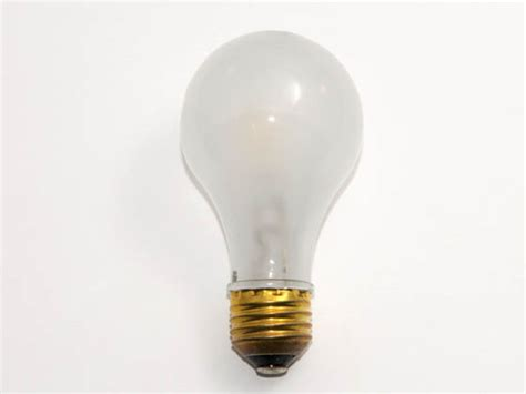 3 volt light bulb bulbrite 52 watt 120 volt a19 frosted halogen bulb 52a