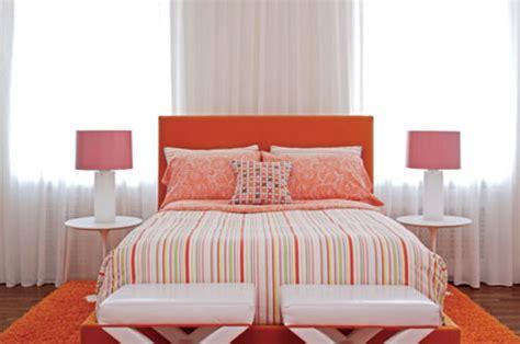 orange and white bedroom colorful modern bedroom pink orange white saarinen