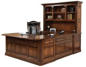 Small Executive Office Desks U Shaped Executive Desk Gish S Amish Legacies