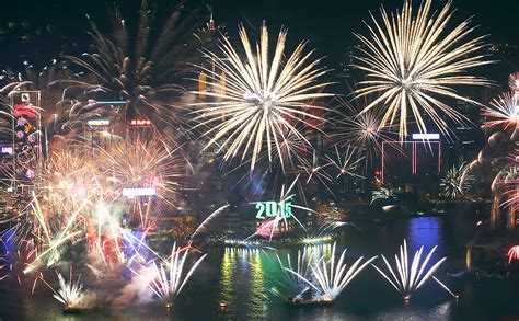 new year 2015 hong kong song fireworks and festivities how the world celebrated new