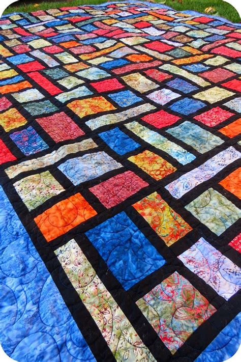County Lines Quilt Pattern by 17 Best Images About Stained Glass Quilts On