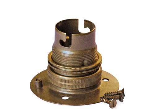 batten holder l shade bc batten lholder in antique brass made in the uk