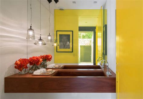 yellow and brown bathroom decor bathroom impressive yellow bathroom decor working with white and black accents