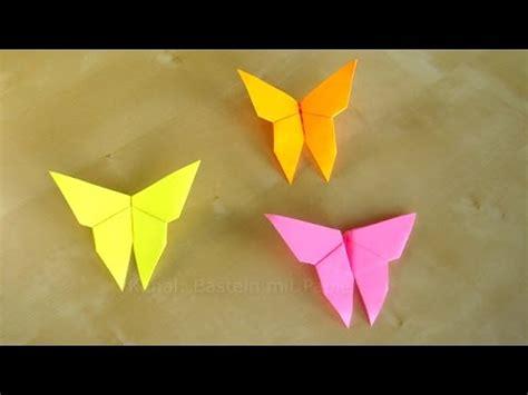 basteln schmetterlinge falten einfaches diy origami
