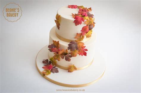 Wedding Cake Autumn by Autumn Wedding Cake In Harborne And Edgbaston Beanie S