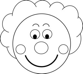 Clown Hat Template by L Blends Clown Craft Template By Kinder Tpt