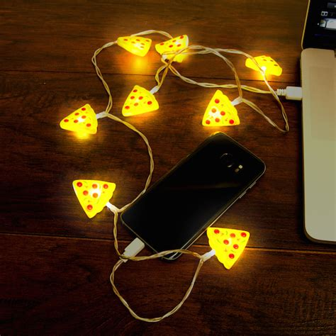 christmas light phone charger pizza slices usb charger for iphone stoner s funstore in