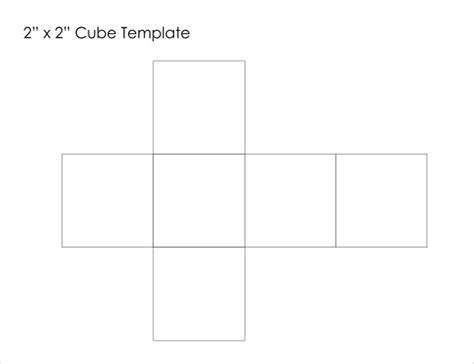 a cube template paper cube template 18 free word pdf documents free