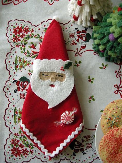 pattern for fabric napkin holder tutorial santa napkin holder betz white