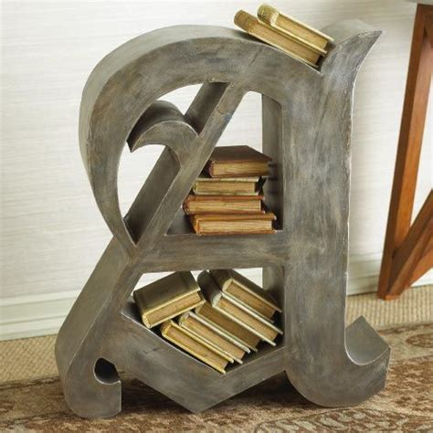 letter a bookshelf i really want one of these