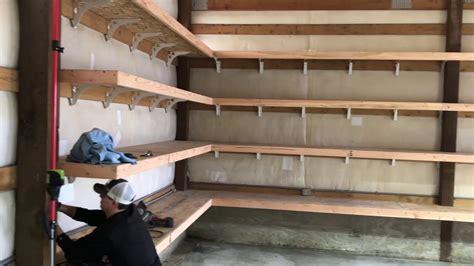 amazing speedbrace project garage shelving youtube