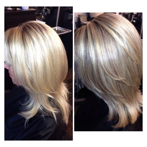 organic hair salons temecula blonde with a natural looking lowlight hair by michelle