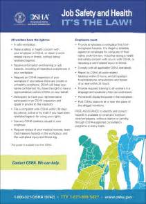 bloodborne pathogens policy template osha unveils new it s the poster remodeling osha