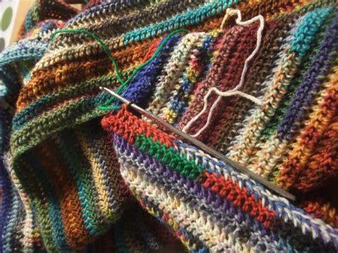 decke stricken aus wollresten decke aus restwolle stricken rezept zutaten anleitung auf