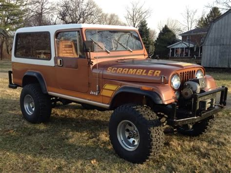 jeep scrambler hardtop 1983 jeep scrambler cj 8 with hardtop jeep cj8