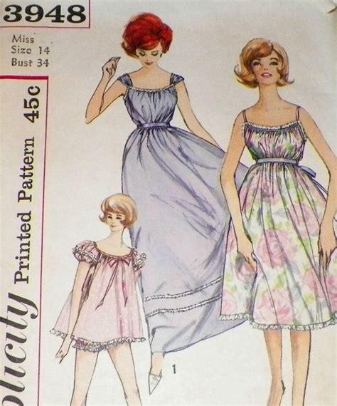vintage nightwear pattern 157 best ideas about vintage nightwear on pinterest