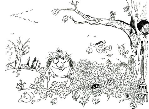 100 cartoon critters coloring pages directory