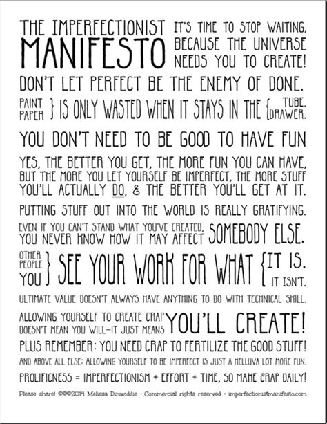 image gallery manifesto template