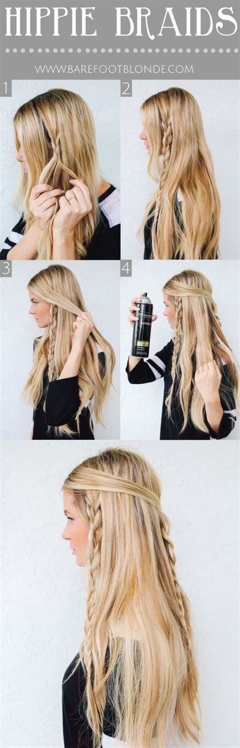 braided hairstyles hippie 16 ultra chic bohemian hairstyles pretty designs