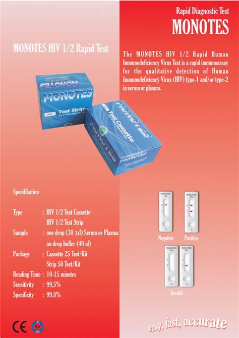 Alat Tes Hiv jual alat tes hiv akurat monotes biolab medika
