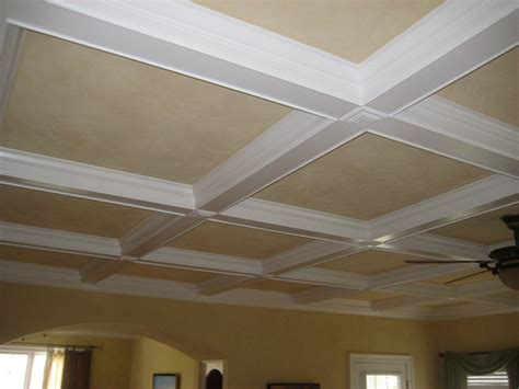 Simple Coffered Ceiling Simple Ceiling Designs Studio Design Gallery Best