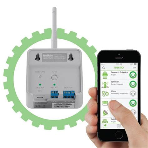 wemo maker home automation for the tinkerer