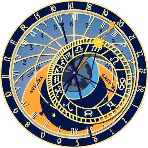 Office View by Clipart Prague Astronomical Clock