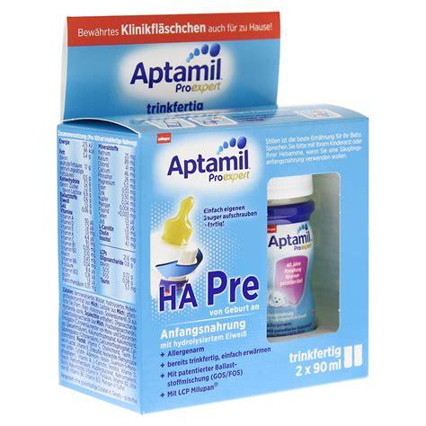 hã ngematte bestellen aptamil proexpert ha pre fl 252 ssig 2x90 milliliter