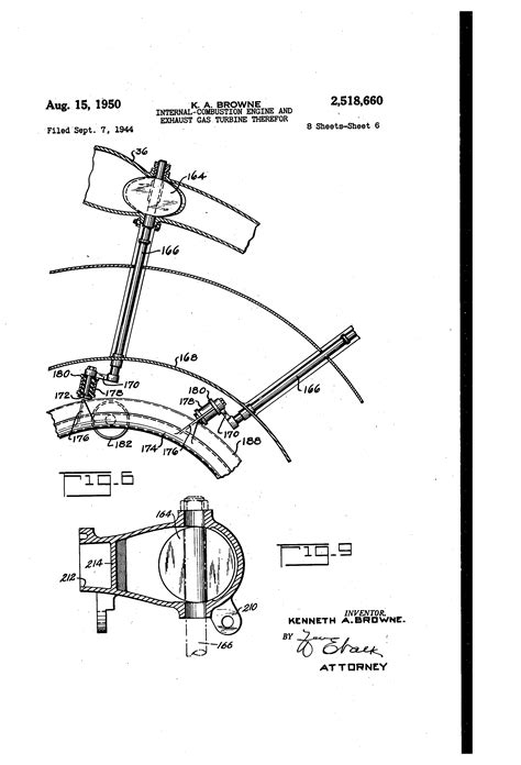 Exhaust System In Ic Engine Pdf Patent Us2518660 Combustion Engine And Exhaust