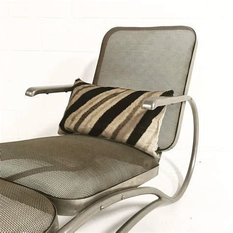 zebra chaise lounge vintage iron mesh chaise lounge with zebra and cowhide