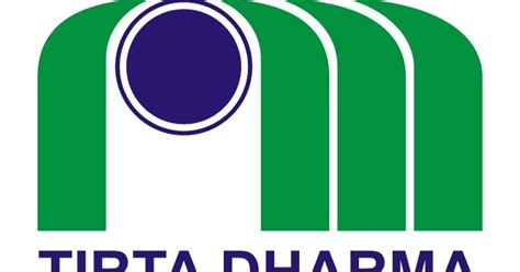 logo pdam tirta dharma vector  logo