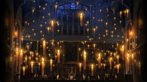 the great hall harry potter pottermore background great hall floating candles by