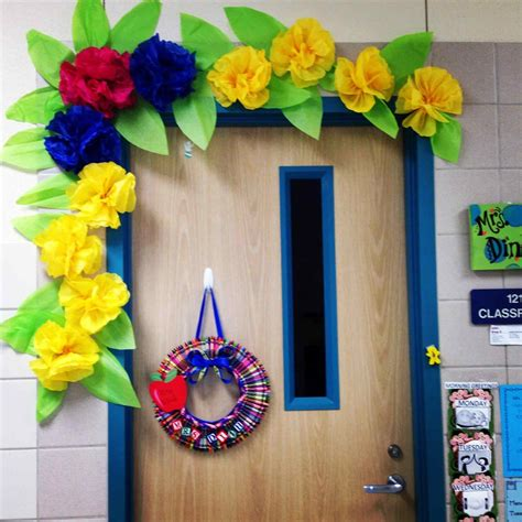 picture decorating ideas for classroom door decoration craft completed items