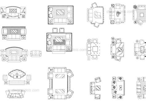 living room layout autocad blocks living room furniture sets dwg free cad blocks download