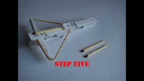 how to make a mini how to make a mini crossbow