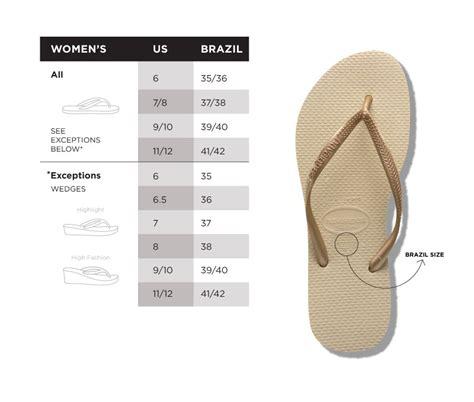 shoe size chart havaianas baby2baby sandal jessica alba havaianas