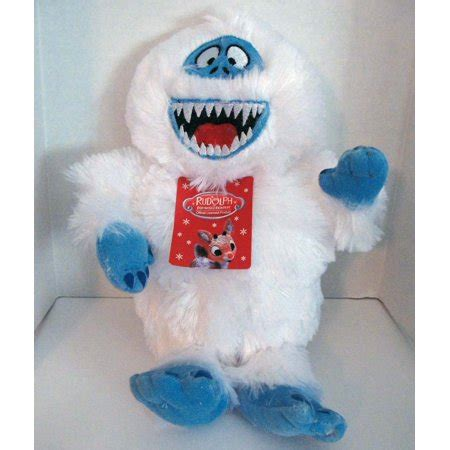 abominable snowman  rudolph  red nosed reindeer