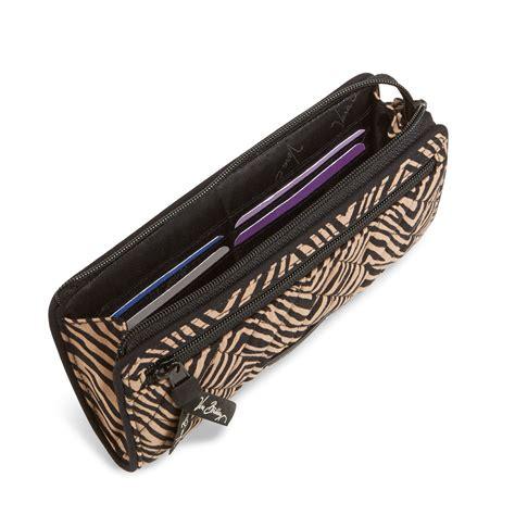 Zip Wristlet vera bradley front zip wristlet ebay