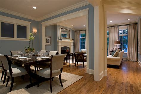 Beach House Dining Room For Traditional Dining Room With Open Dining Room