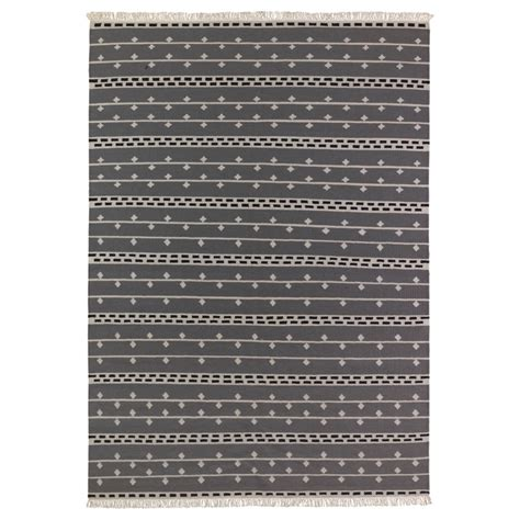 Ikea Bedroom Rugs by Alvine Rand Rug Flatwoven Gray White Black 199 00 For The Home Rugs Gray