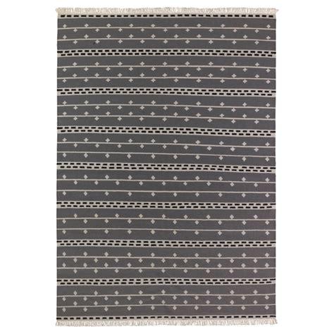 bedroom rugs ikea alvine rand rug flatwoven gray white black 199 00
